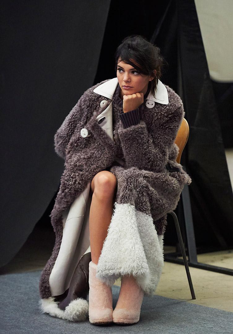 Kendall Jenner Fendi Fall Winter 2015 Ad Campaign Gotceleb