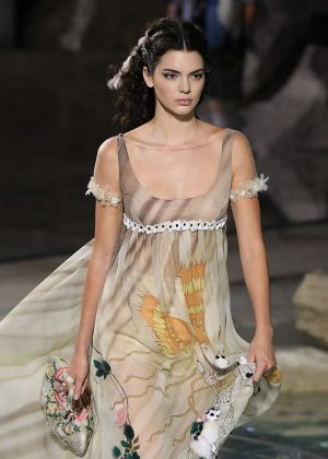 Kendall Jenner - Fendi's 90th Anniversary Fashion Show in Rome