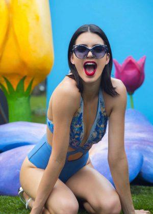 Kendall Jenner - 'Freedom Panty' for La Perla 2017 Photoshoot