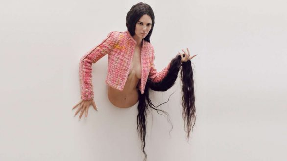 Kendall Jenner - Garage Magazine Spring 2020