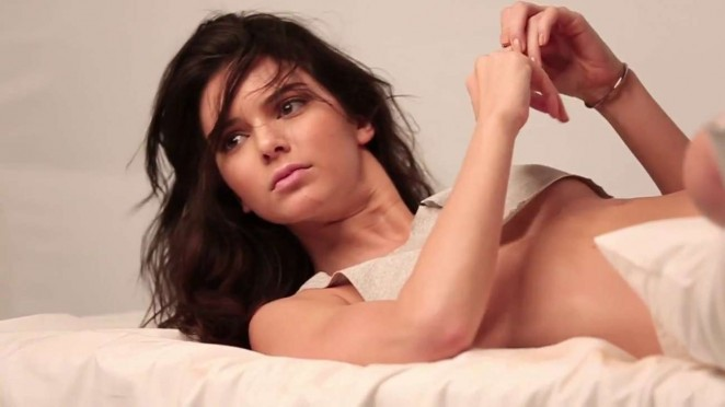 Kendall Jenner: GQ 2015 (Behind the Scenes) -06