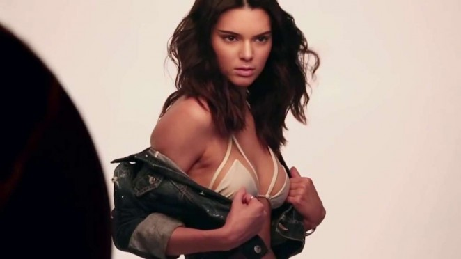 Watch a Behind-the-Scenes Video of Kendall Jenners Sexy