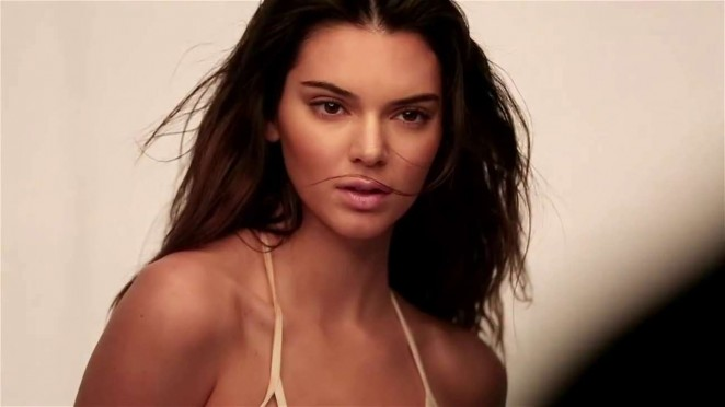 Kendall Jenner: GQ 2015 (Behind the Scenes) -19