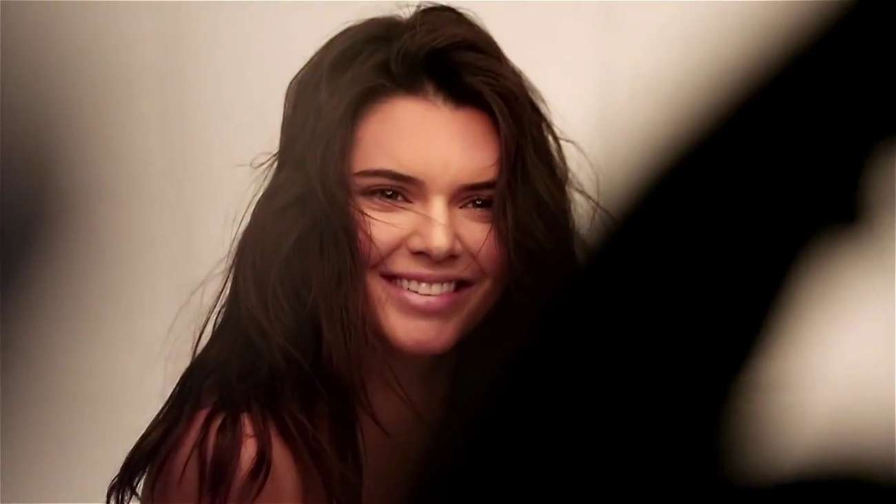Kendall Jenner Bares Some Skin in GQ Behind the Scenes