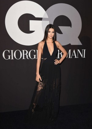 Kendall Jenner: GQ and Giorgio Armani Grammys After Party -02