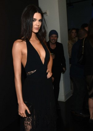 Kendall Jenner: GQ and Giorgio Armani Grammys After Party -03