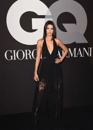 Kendall Jenner: GQ and Giorgio Armani Grammys After Party -08