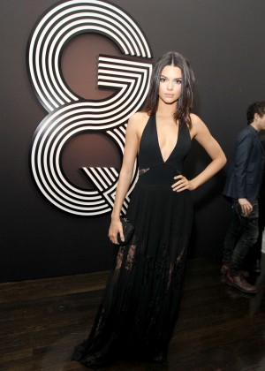 Kendall Jenner: GQ and Giorgio Armani Grammys After Party -13