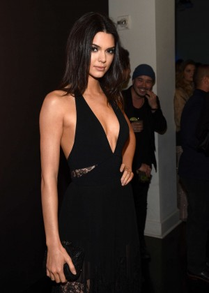 Kendall Jenner - GQ and Giorgio Armani Grammys After Party in Hollywood