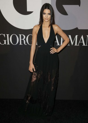 Kendall Jenner: GQ and Giorgio Armani Grammys After Party -16