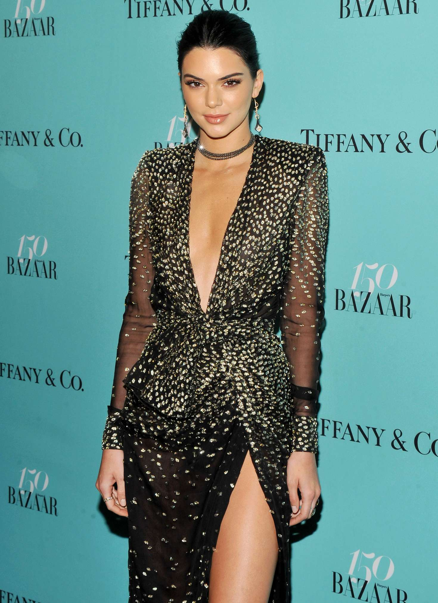picture Kendall jenner at harpers tiffany co celebrate