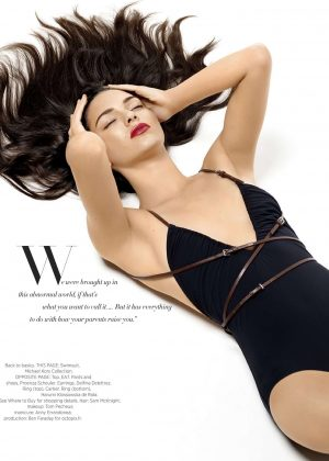 Kendall Jenner - Harper's Bazaar Magazine (June/July 2016) adds