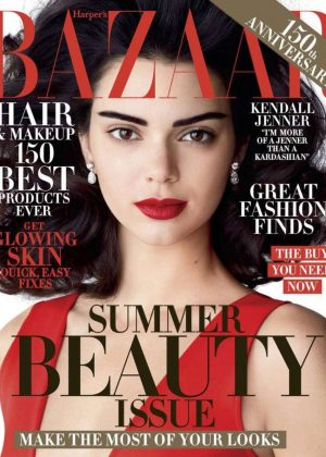 Kendall Jenner - Harper's Bazaar US Cover (May 2017)