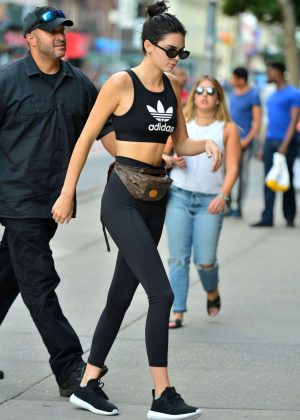 Kendall Jenner - Head to the Boxing Gym in NYC