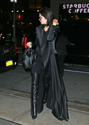 Kendall Jenner Heading at SOHO Trump Hotel in NYC