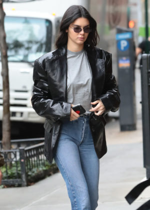 Kendall Jenner - Heading to an Adidas photo shoot in NYC
