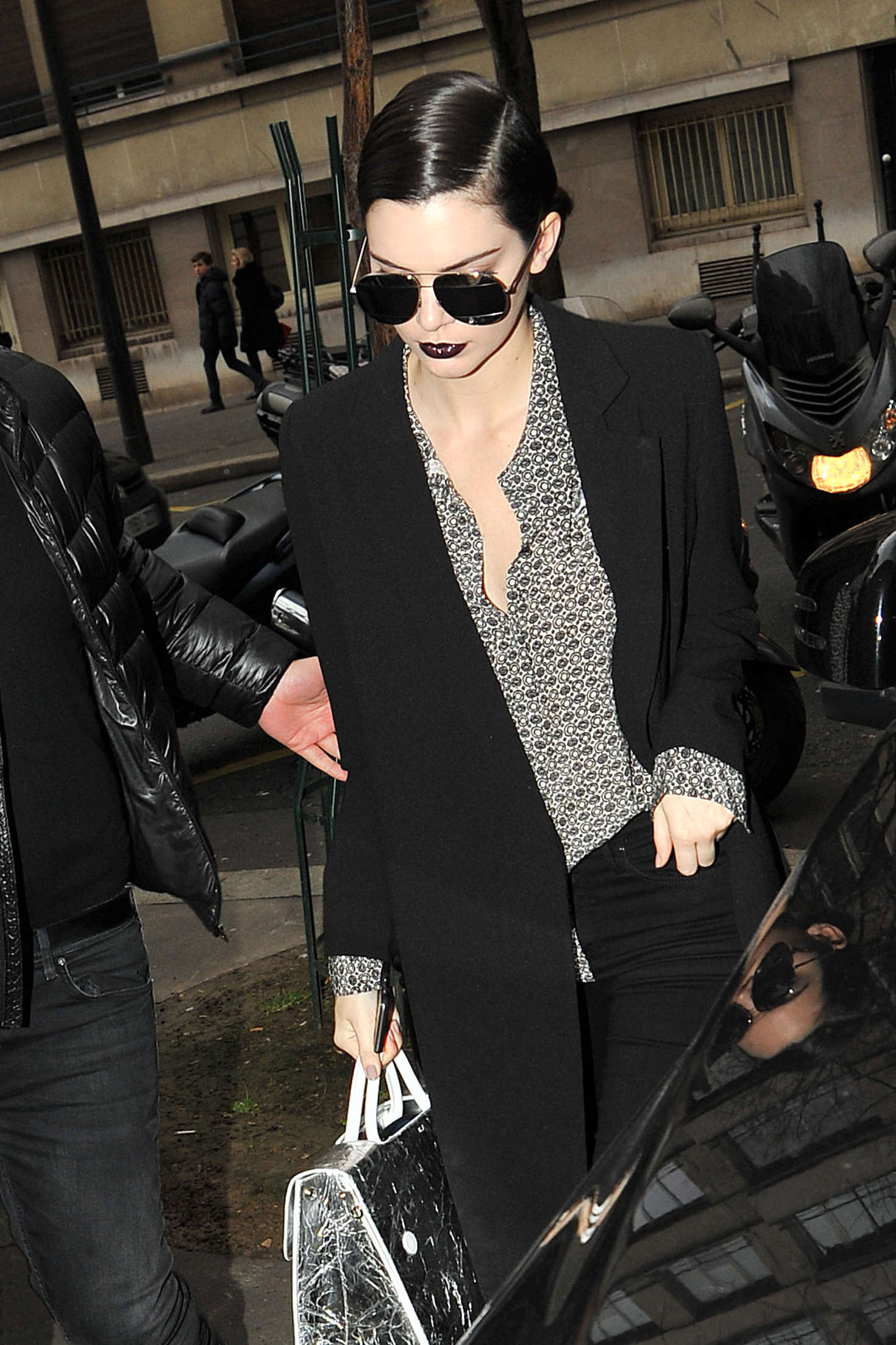 Kendall Jenner 2016 : Kendall Jenner: Heading to Elie Saab Show 2016 -09