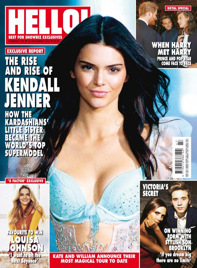 Kendall Jenner - Hello UK Magazine (November 2015)
