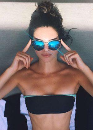 Kendall Jenner in Bikini - Instagram