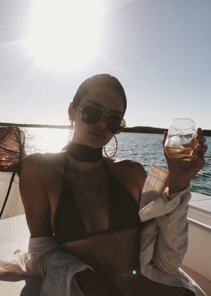 Kendall Jenner in Bikini - Personal Pics