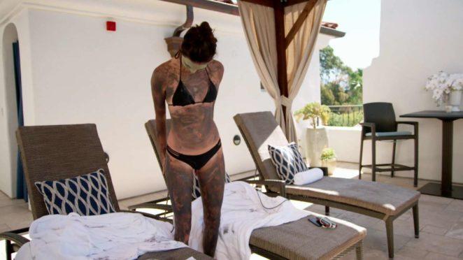 Kendall Jenner in Black Bikini