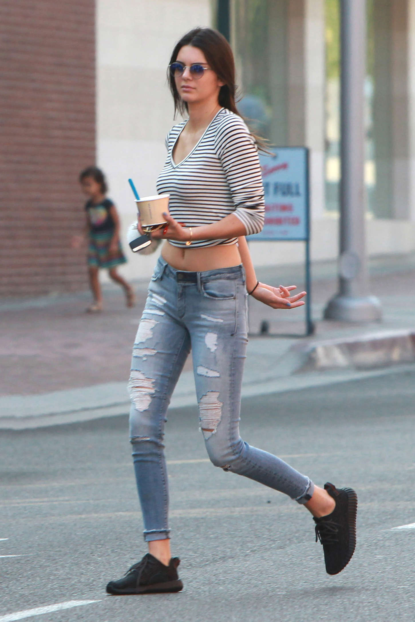 Kendall Jenner Booty in Jeans -04 - GotCeleb