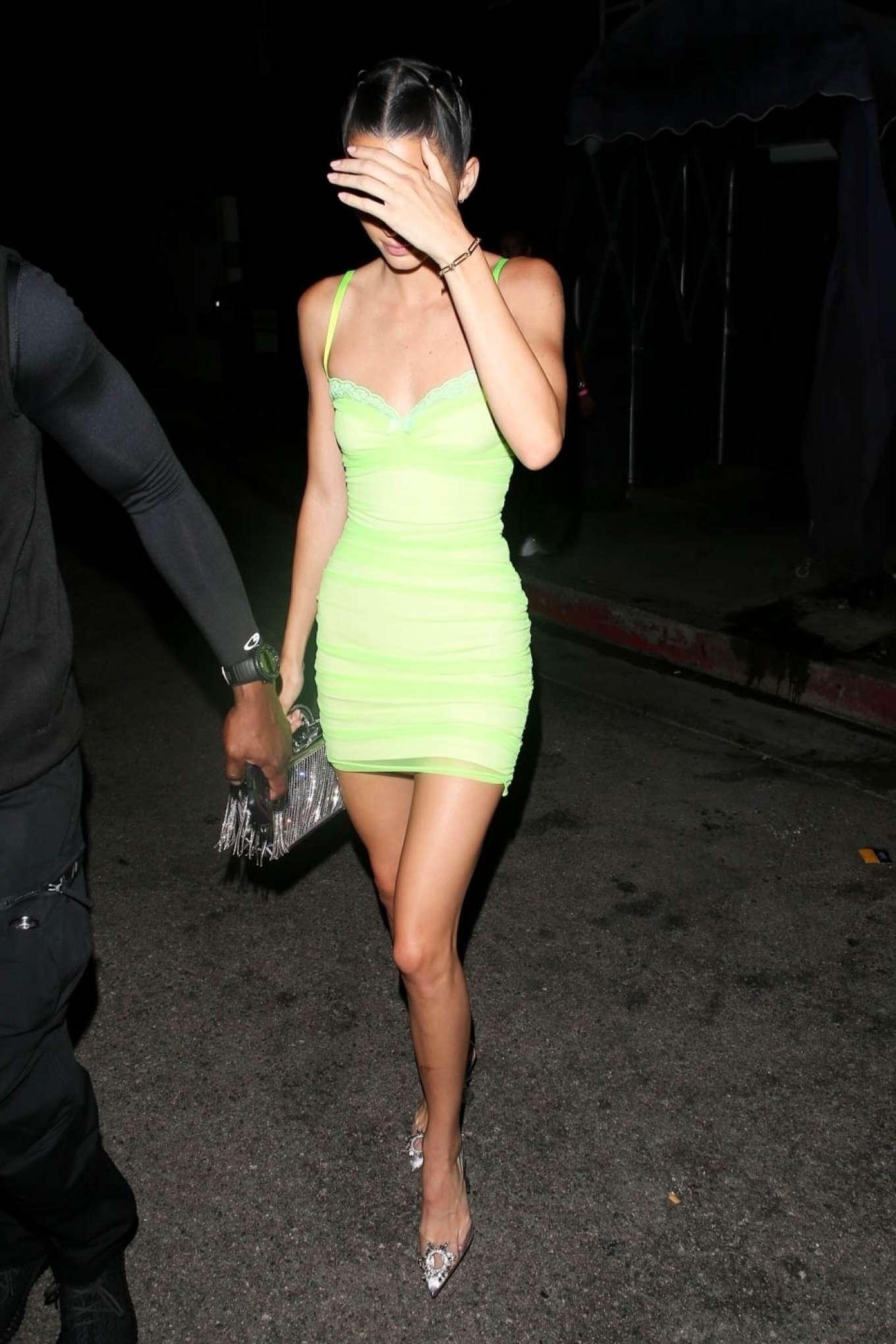 Kendall Jenner 2019 : Kendall Jenner in Mini Dress-07
