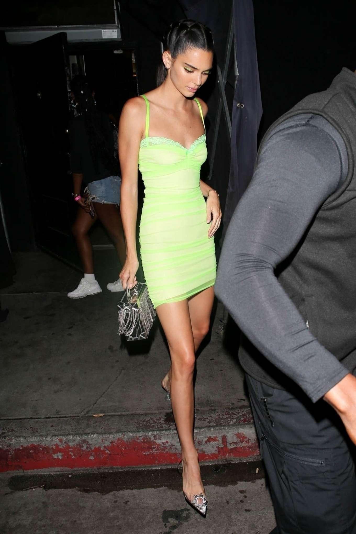 Kendall Jenner 2019 : Kendall Jenner in Mini Dress-09
