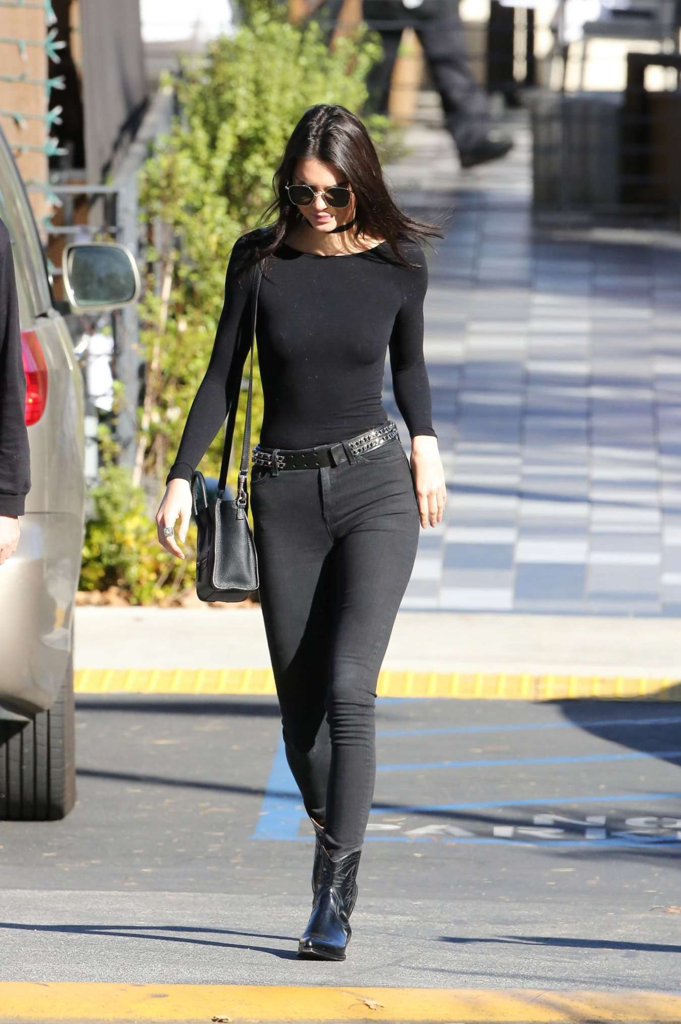 Kendall Jenner in Skinny Jeans -25 | GotCeleb
