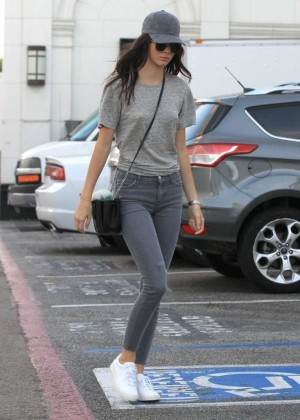 Kendall Jenner in Tight Jeans -04
