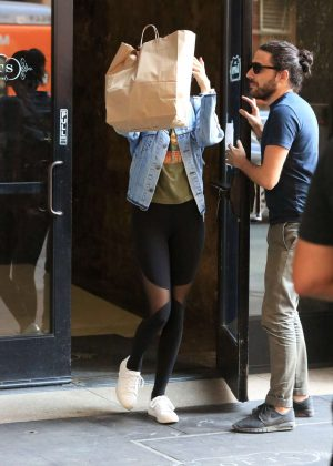 Kendall Jenner in Tight Leggings Out in LA