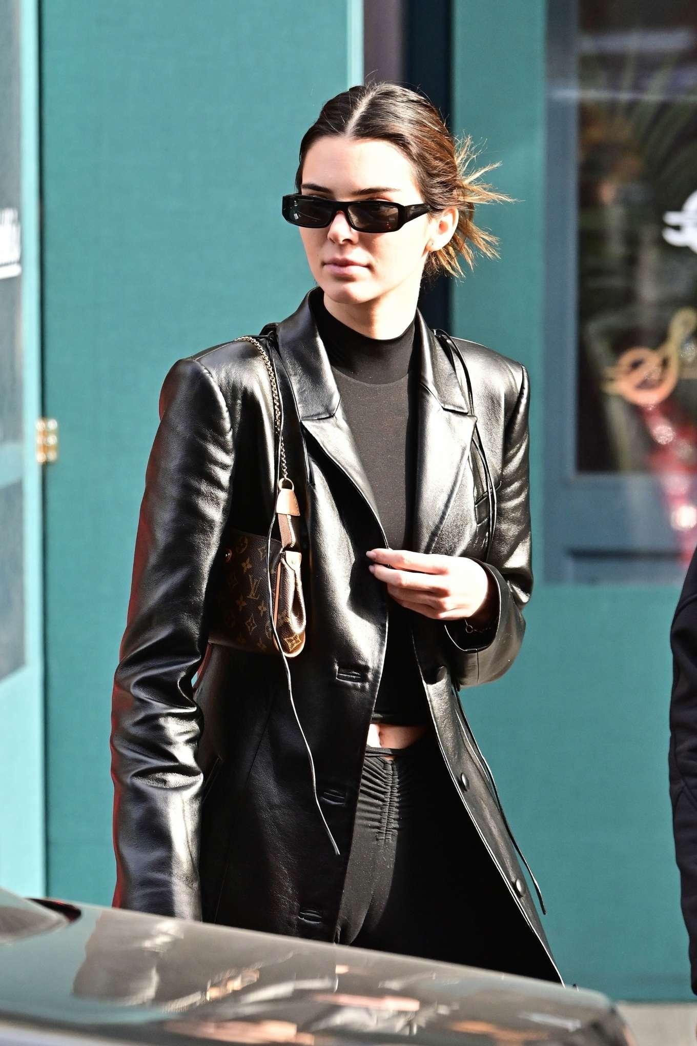 Kendall Jenner - Is seen leaving Sadelle's restaurant in SoHo