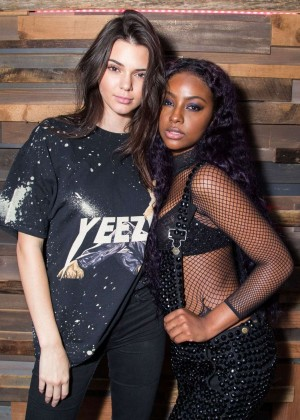 Kendall Jenner - Justine Skye Emotionally Unavailable Album Release Party in West Hollywood