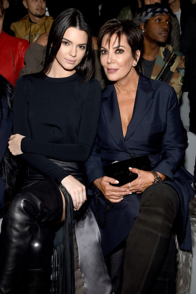 Kendall Jenner - Kanye West 2015 Fashion Show in NYC