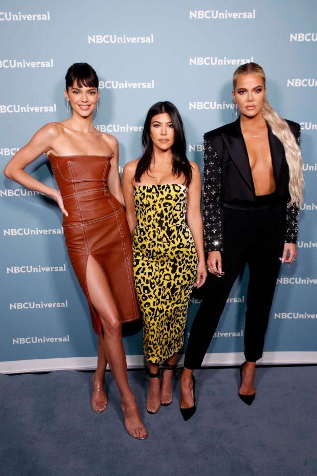 Kendall Jenner, Khloe and Kourtney Kardashian - NBCUniversal Upfront Presentation in NYC