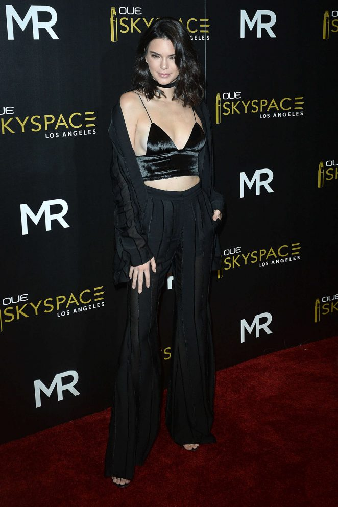 Kendall Jenner: Launch Of OUE Skyspace -01