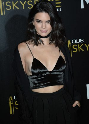 Kendall Jenner - Launch Of OUE Skyspace in LA