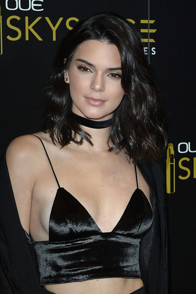 Kendall Jenner: Launch Of OUE Skyspace -08