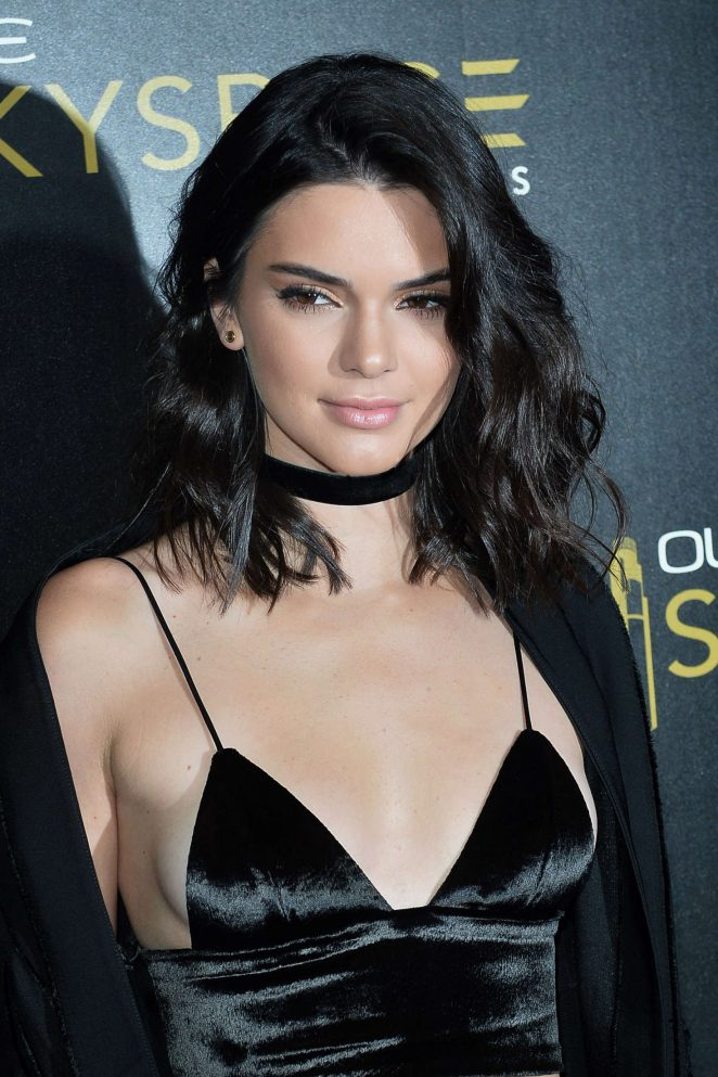 Kendall Jenner: Launch Of OUE Skyspace -14