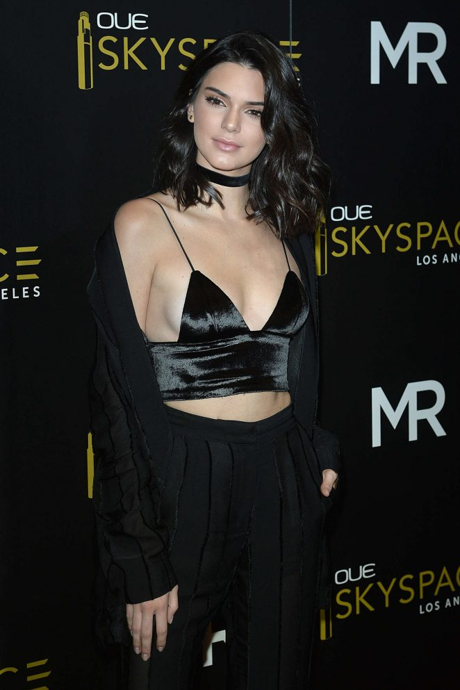 Kendall Jenner: Launch Of OUE Skyspace -18