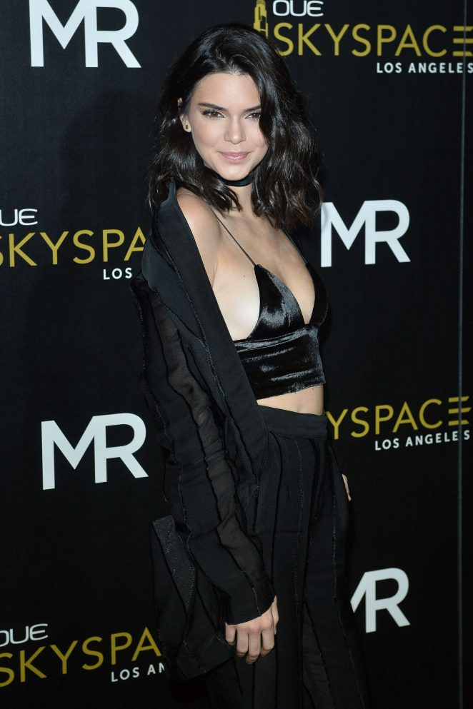 Kendall Jenner: Launch Of OUE Skyspace -22