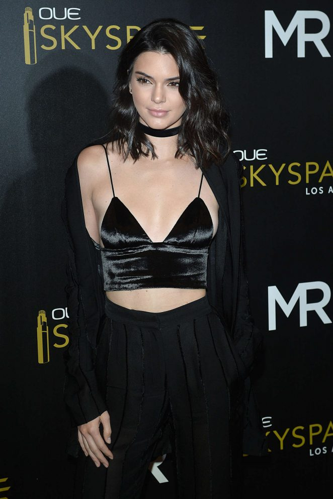 Kendall Jenner: Launch Of OUE Skyspace -23