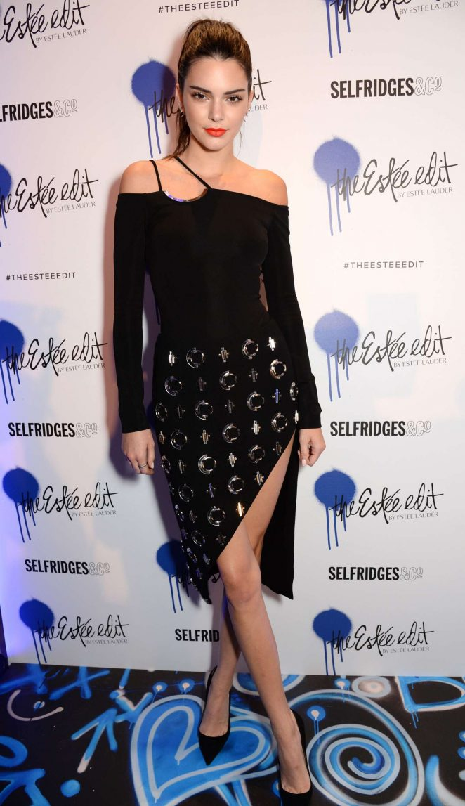 Kendall Jenner: Launch of The Estee Edit -08