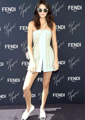 Kendall Jenner - Launch of the New Karl Lagerfeld Book in Cannes