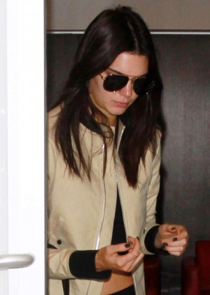 Kendall Jenner - LAX airport in LA