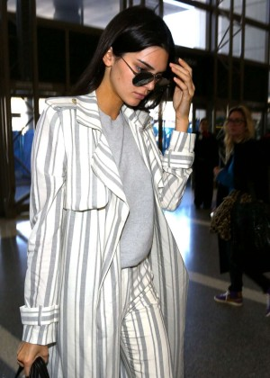 Kendall Jenner - LAX Airport in Los Angeles