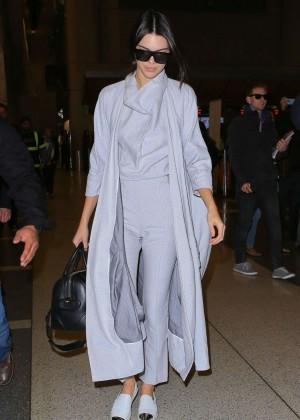 Kendall Jenner - LAX in LA