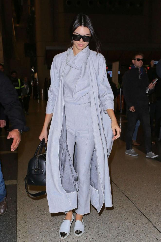 Kendall Jenner – LAX in LA