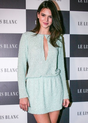 Kendall Jenner - Le Lis Blanc Cocktail Party in Sao Paulo