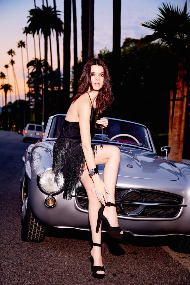 Kendall Jenner - Le Lis Blanc Photoshoot 2015